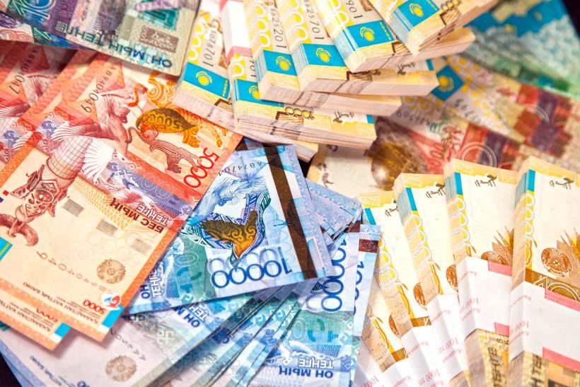 Деньги много картинки тенге